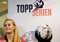 Fotball , 27. september 2017 , Eliteserien og Toppserien har fått felle ligaball , <br /> Lisa-Marie Karlseng Utland  , Røa