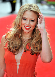 © Licensed to London News Pictures. 24/07/2011. London, England.Kimberley Walsh attends the World premiere of Horrid Henry at the BFI on Londons Southbank. Photo credit : ALAN ROXBOROUGH/LNP