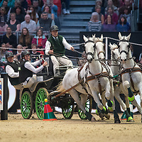 Qualifier - FEI World Cup Driving - London Olympia Horse Show 2016