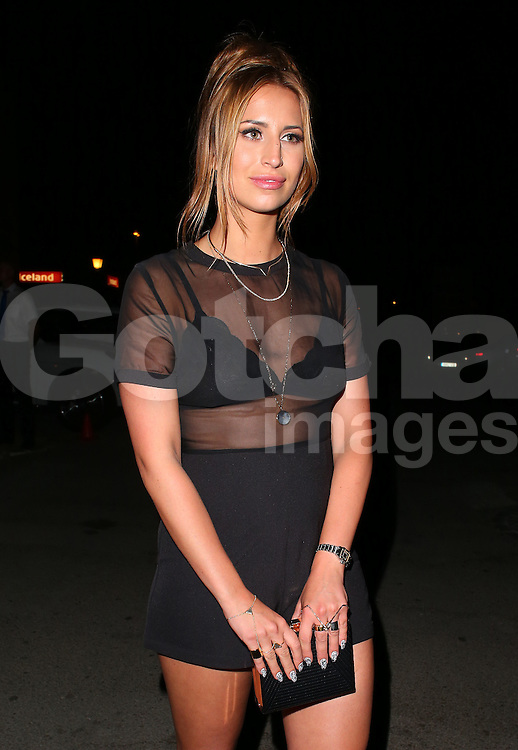 TOWIE star Ferne McCann attends the Cavalli Club VIP Launch party in Puerto Banus, Marbella. Spain. 30/05/2015<br />