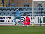 Bolton Wanderers' Gary Madine scores - Dundee v Bolton Wanderers pre-season friendly at Dens Park, Dundee, Photo: David Young<br /> <br />  - © David Young - www.davidyoungphoto.co.uk - email: davidyoungphoto@gmail.com