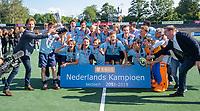 AMSTELVEEN - finale Laren JA1- HC Rotterdam JA1. Laren wint de titel Jongens A . finales A en B jeugd  Nederlands Kampioenschap. Victor Brouwer en Leon Rutten reiken de prijzen uit.  COPYRIGHT KOEN SUYK