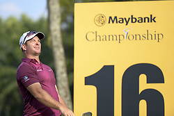 March 22, 2019 - Kuala Lumpur, Malaysia - Ryan Fox of New Zealand in action during Day Two of the Maybank Championship at Saujana Golf and Country Club on March 22, 2019 in Kuala Lumpur, Malaysia. (Credit Image: © Chris Jung/NurPhoto via ZUMA Press)