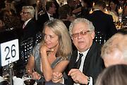SABRINA GUINNESS; JEREMY THOMAS, Luminous -Celebrating British Film and British Film Talent,  BFI gala dinner & auction. Guildhall. City of London. 6 October 2015.