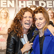 NLD/Amsterdam/20160202 - Lancering Helden magazine, Barbara Barend en Victoria Koblenko