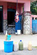 Carniceria in Guantanamo city, Guantanamo, Cuba.