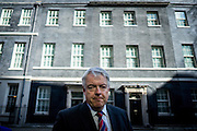 UNITED KINGDOM, London: 5 April 2016. Wales First Minister Carwyn Jones speaks to the media after a meeting at 10 Downing Street in London on April 5, 2016 to discuss the Tata Steel works in Port Talbot.  Pic by Andrew Cowie / Story Picture Agency