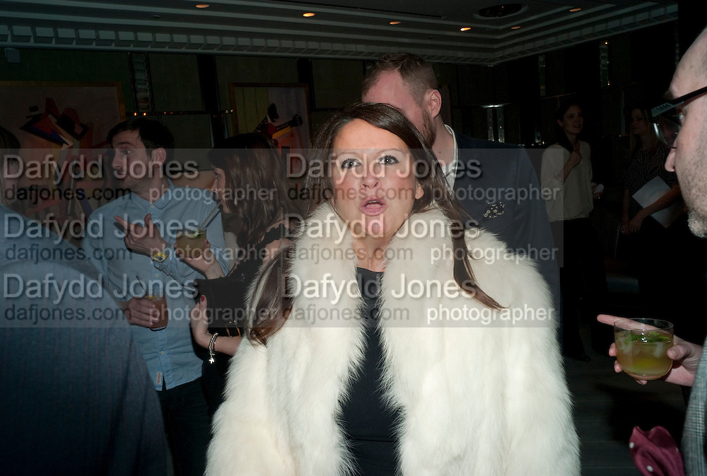 FRAN CUTLER, GQ Style party, The Bassoon Bar , The Corinthia Hotel, Whitehall Place London. 15 March 2011.  -DO NOT ARCHIVE-© Copyright Photograph by Dafydd Jones. 248 Clapham Rd. London SW9 0PZ. Tel 0207 820 0771. www.dafjones.com.