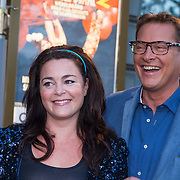 NLD/Amsterdam/20130903 - Inloop premiere Stiletto 2, Kim Lian van der Meij en Albert Verlinde