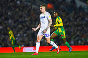 Kalvin Phillips of Leeds United (23) asks for the ball during the EFL Sky Bet Championship match between Leeds United and West Bromwich Albion at Elland Road, Leeds, England on 1 March 2019.