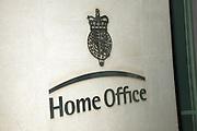 Home Office sign, Marsham Street, Westminster, London