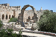 Israel, Jerusalem, The archaeology excavation at the City of David