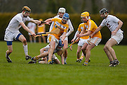 Leinster Minor Hurling - Shield Final at St Feckins GFC, 2nd April 2016<br /> Antrim vs Kildare<br /> <br /> Photo: David Mullen /www.cyberimages.net / 2016