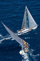 "France Saint - Tropez October 2013, Wally Class racing at the Voiles de Saint - Tropez<br /> <br /> Wally,GBR 94R,MAGIC BLUE,""28,5"",WALLY 94/2002,GERMAN FRERS"