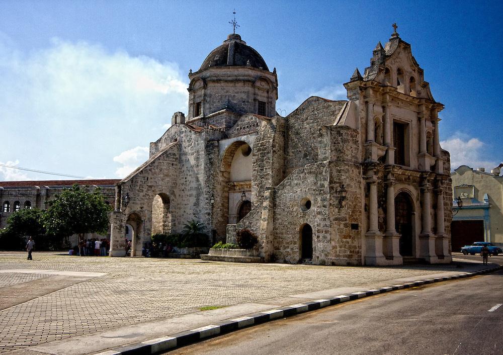 Iglesia de San Francisco de Paula, Havana Vieja, Cuba.