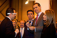 012214 Prince Felipe and Princess Letizia attend the Opening of FITUR