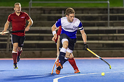 Old Loughtians v Southgate - Men's Hockey League East Conference, Luxborough Lane, London, UK on 04November 2017. Photo: Simon Parker
