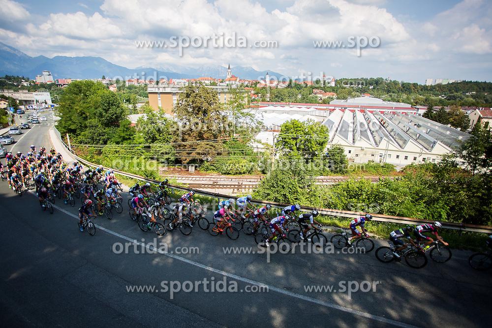 Peloton during cycling race 48th Grand Prix of Kranj 2016 / Memorial of Filip Majcen, on July 31, 2016 in Kranj centre, Slovenia.  Photo by Ziga Zupan / Sportida