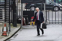 Downing Street, London, December 13th 2016. Secretary of State for Exiting the European Union David Davis arrives at the weekly meeting of the cabinet at Downing Street, London.