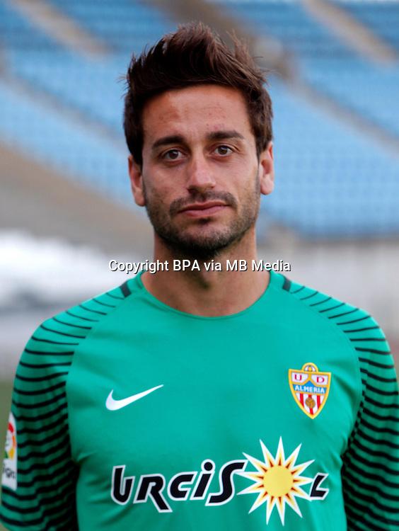 Spain - La Liga B 123 _ 2016-2017 / <br /> ( U.D. Almeria ) - <br /> Casto Espinosa Barriga &quot; Casto &quot;