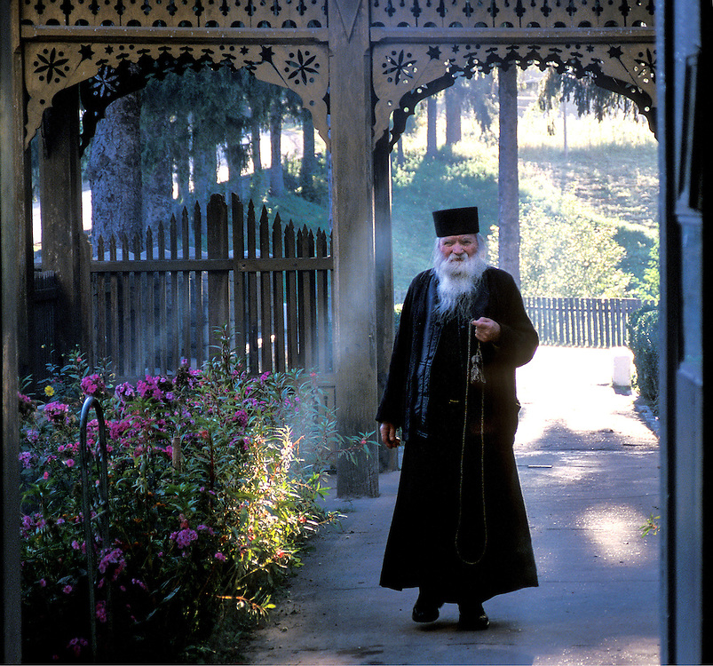Priest in Romania