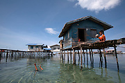The Bajau Laut people more commonly known as sea gypsies fish the waters and reside of the east Coast of Malaysian Borneo. Those that still live entirely at sea on boats as well as those that build stilted houses off shore of some of the small islands around the east coast are considered stateless people.  These people have no opportunity for education or health care in Malaysia.