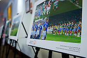 Photo exhibition by Adam Nurkiewicz during the 12th Special Olympics Football Conference 2014 at Novotel Hotel in Warsaw on April 11, 2014.<br /> <br /> Poland, Warsaw, April 11, 2014<br /> <br /> Picture also available in RAW (NEF) or TIFF format on special request.<br /> <br /> For editorial use only. Any commercial or promotional use requires permission.<br /> <br /> Mandatory credit:<br /> Photo by &copy; Adam Nurkiewicz / Mediasport