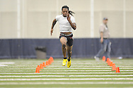 Mississippi football player Dexter McCluster at Pro Day in the IPF in Oxford, Miss. on Tuesday, March 23, 2010.