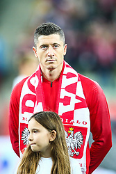 November 15, 2018 - Gdansk, Poland - Robert Lewandowski of Poland during International Friendly match between Poland and Czech Republic on November 15, 2018 in Gdansk, Poland. (Credit Image: © Foto Olimpik/NurPhoto via ZUMA Press)
