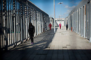 Donne all' interno del Cie<br /> 7 febbraio  2014 . Daniele Stefanini /  OneShot
