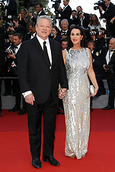 Al Gore and Elizabeth Keadle attend the 70th Anniversary screening during the 70th annual Cannes Film Festival at Palais des Festivals on May 23, 2017 in Cannes, France. Photo by Shootpix/ABACAPRESS.COM