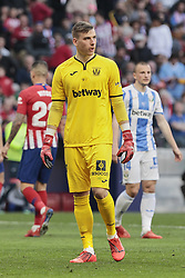 March 9, 2019 - Madrid, Madrid, Spain - CD Leganes's Andriy Lunin during La Liga match between Atletico de Madrid and CD Leganes at Wanda Metropolitano stadium in Madrid. (Credit Image: © Legan P. Mace/SOPA Images via ZUMA Wire)