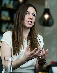 Sheena Lindahl, President & Co-Founder of Empact, on March 6, 2017 in Kavarna Zvezda, Hotel Slon, Ljubljana, Slovenia. Photo by Vid Ponikvar / Sportida