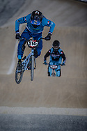 #514 (TOURNEBIZE Tristan) FRA at Round 2 of the 2018 UCI BMX Superscross World Cup in Saint-Quentin-En-Yvelines, France.
