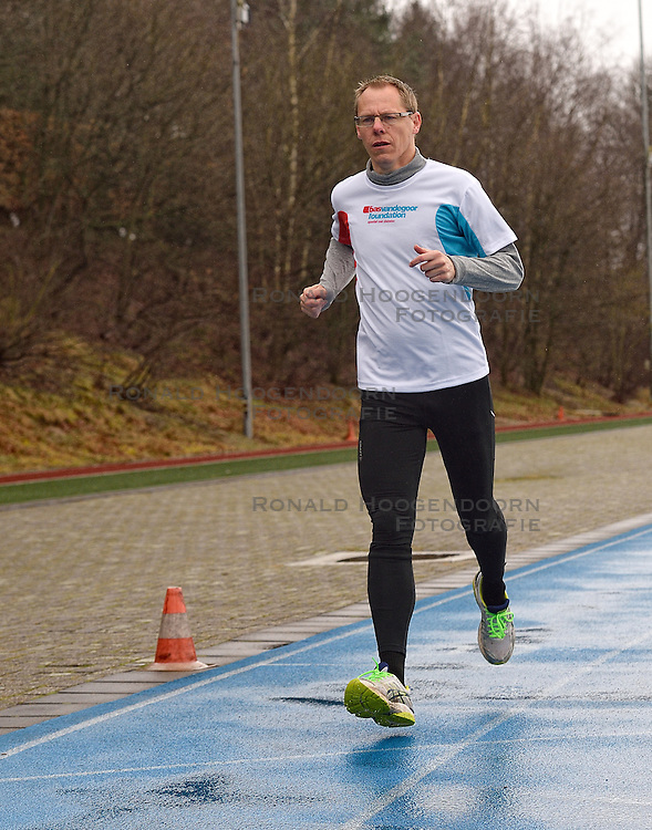 21-03-2015 NED: We Run 2 Change Diabetes NY 2015, Arnhem<br /> We run to change diabetes, training van de groep hardlopers met diabetes die op 1 november 2015 hun grenzen gaan verleggen in de marathon van New York / Peter