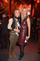 Left to right, Tatjana d'Abo and Felicia Brocklebank at the Save The Children's Night of Country at The Roundhouse, London England. 2 March 2017.