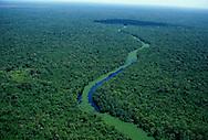 Vista aerea del Delta del Rio Orinoco, Venezuela.  1998 (Ramon Lepage / orinoquiaphoto)  Aeria