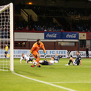 Peter MacDonald scores for Dundee - Dundee v Raith Rovers, Scottish League Cup at Dens Park<br /> <br />  - &copy; David Young - www.davidyoungphoto.co.uk - email: davidyoungphoto@gmail.com