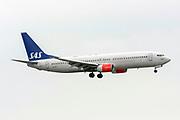 SAS Scandinavian Airlines System Boeing 737 Next Gen. at Milan Malpensa (MXP / LIMC) Italy