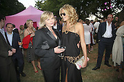 Fran Macpherson and her daughter Elle Macpherson, The Summer Party sponsored by Yves St. Laurent. Serpentine Gallery. 11 July 2006. . ONE TIME USE ONLY - DO NOT ARCHIVE  © Copyright Photograph by Dafydd Jones 66 Stockwell Park Rd. London SW9 0DA Tel 020 7733 0108 www.dafjones.com
