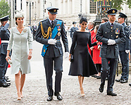 Meghan Markle Joins Royals At RAF Centenary