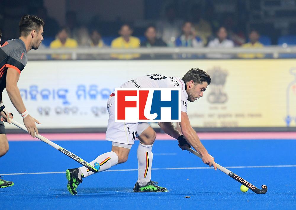 Odisha Men's Hockey World League Final Bhubaneswar 2017<br /> Match id:12<br /> Belgium v Netherlands<br /> Foto: Cedric Charlier (Bel) <br /> COPYRIGHT WORLDSPORTPICS FRANK UIJLENBROEK