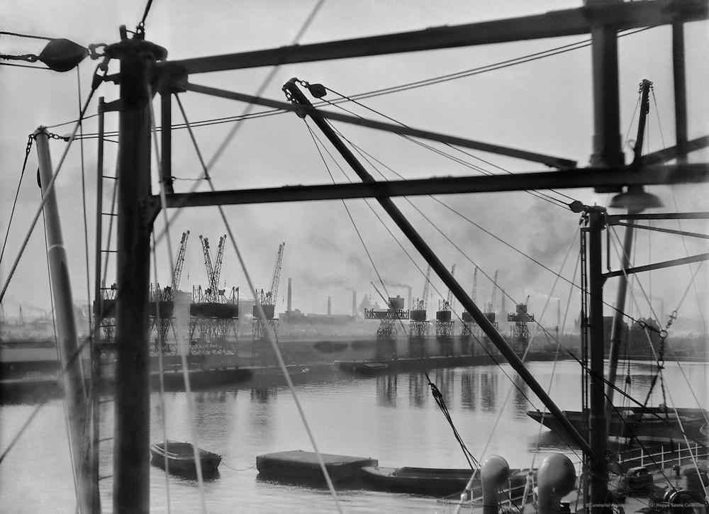 King George V Docks, London, 1934