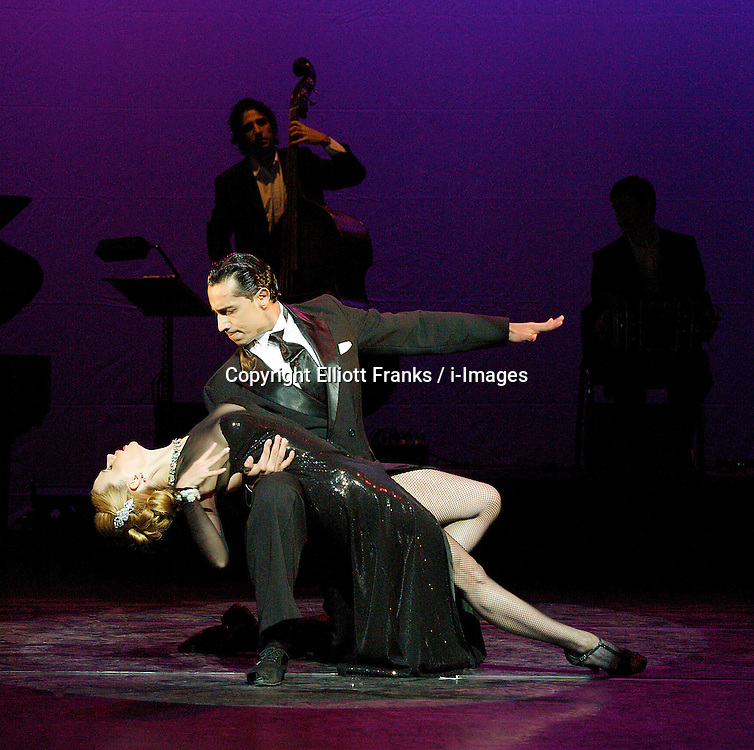 Tango Fire, Flames of Desire, the Peacock Theatre, London, Great Britain, January 30, 2013. Photo by Elliott Franks / i-Images.