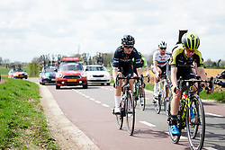 Audrey Cordon-Ragot (FRA) in the break at Amstel Gold Race - Ladies Edition 2018, a 116.9 km road race from Maastricht to Berg en Terblijt on April 15, 2018. Photo by Sean Robinson/Velofocus.com