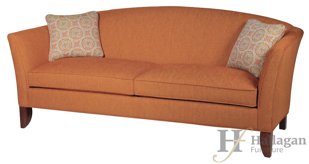Tight Back<br /> Outside: W 84, D 35, H 36<br /> Inside: SW 70, SD 22, SH 20 &mdash; Arm Height: 30<br /> Cushions: 1 or 2 Base Options: TT7