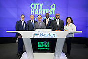 City Harvest at the Market Bell Ceremony at Nasdaq on December 28, 2016 in New York City. (Photo by Ben Hider)