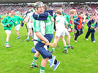 O'loughlin Gaels winners of the Division 1 Final at Pearse Stadium in the Féile na nGael 2011. Photo:Andrew Downes.