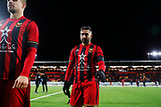 OSTERSUND, SWEDEN - MARCH 17: Saman Ghoddos of Ostersunds FK leaves the pitch after the Swedish Cup Semifinal between Ostersunds FK and Malmo FF at Jamtkraft Arena on March 17, 2018 in Ostersund, Sweden. Photo: Nils Petter Nilsson/Ombrello ***BETALBILD***
