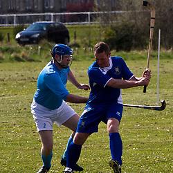 SCOTS Camanachd v Caberfeidh Camanachd | Levenhall Links Musselburgh | 21 April 2012
